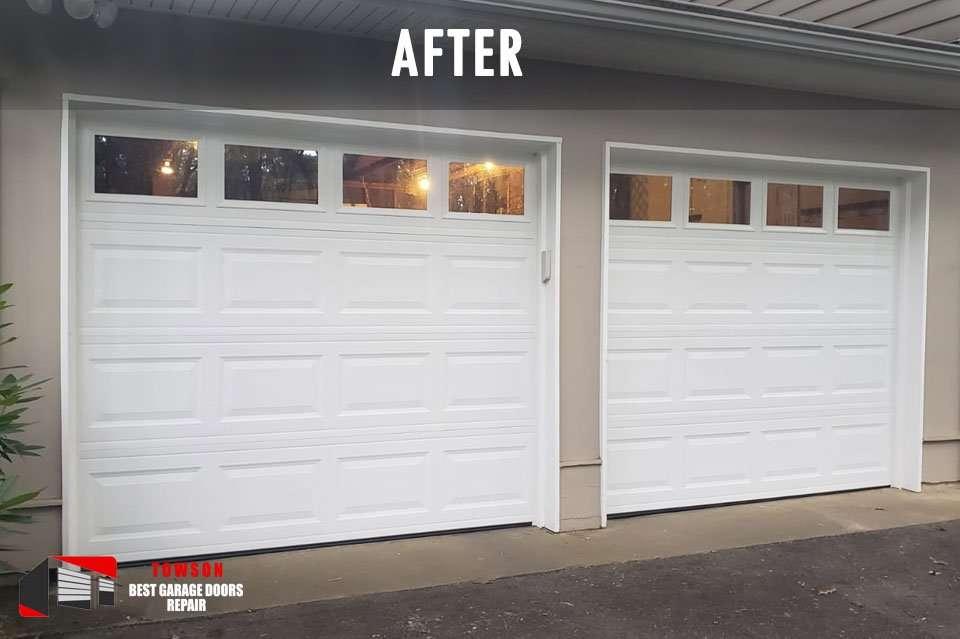 garage-door-installation-towson-md-AFTER
