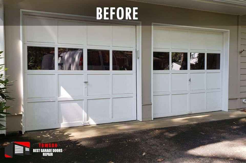 garage-door-installation-towson-md-before